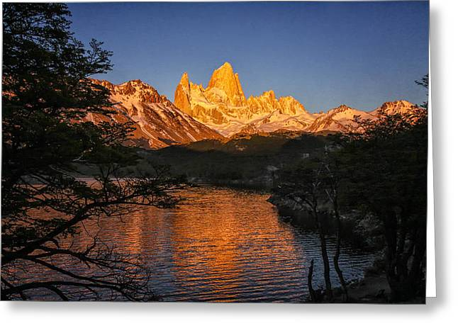 Fitz Roy Massif Greeting Card