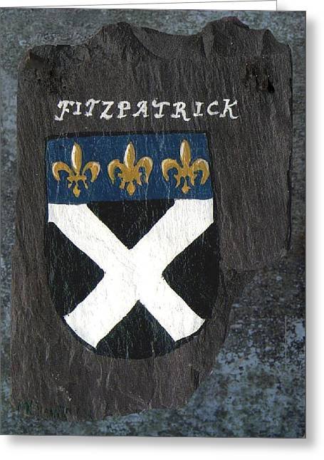 Fitzpatrick Greeting Card by Barbara McDevitt