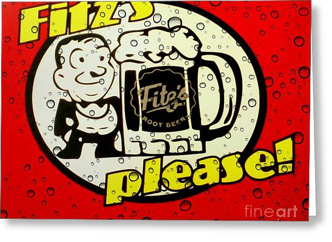Fitz's Please All Wet Greeting Card
