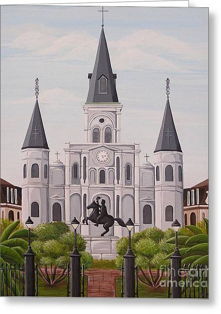 Five Fifteen In New Orleans Greeting Card