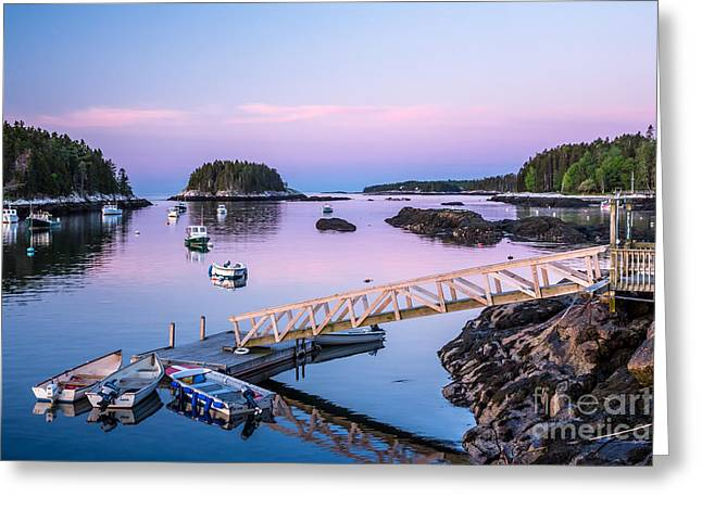 Five Islands Dawn Greeting Card by Susan Cole Kelly