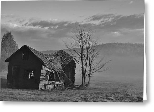 Greeting Card featuring the photograph Fixer Upper by Paul Noble