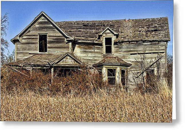 Fixer Upper Greeting Card by Ron Roberts