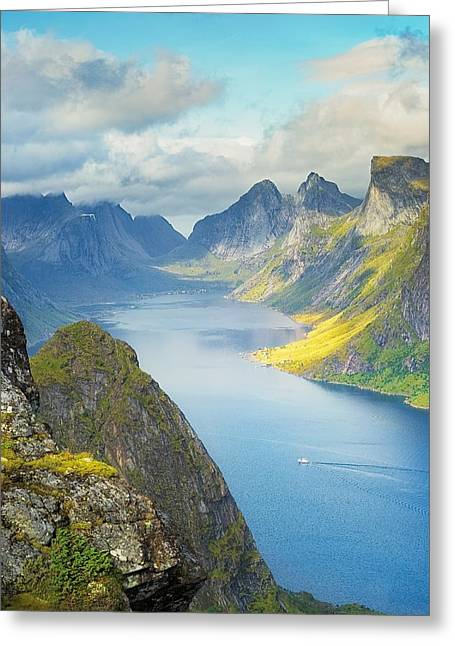 Fjord Greeting Card