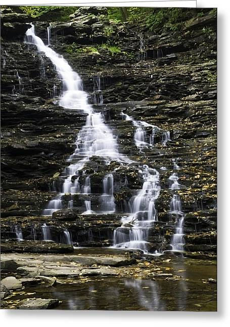 Fl Ricketts Falls Greeting Card