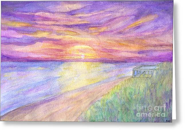Flagler Beach Sunrise Greeting Card