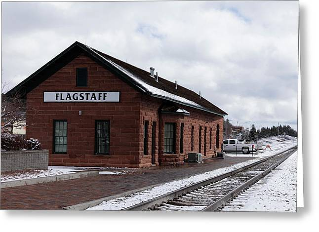 Flagstaff, Arizona, United States Greeting Card by Julien Mcroberts