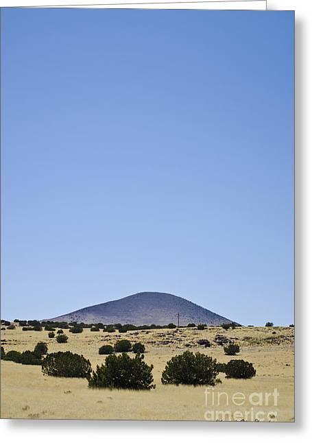 Flagstaff Landscape Iv Greeting Card by David Gordon