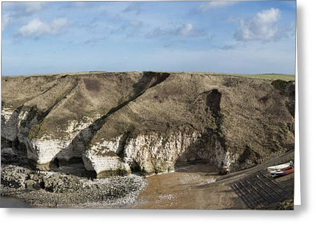 Flamborough North Landing Greeting Card