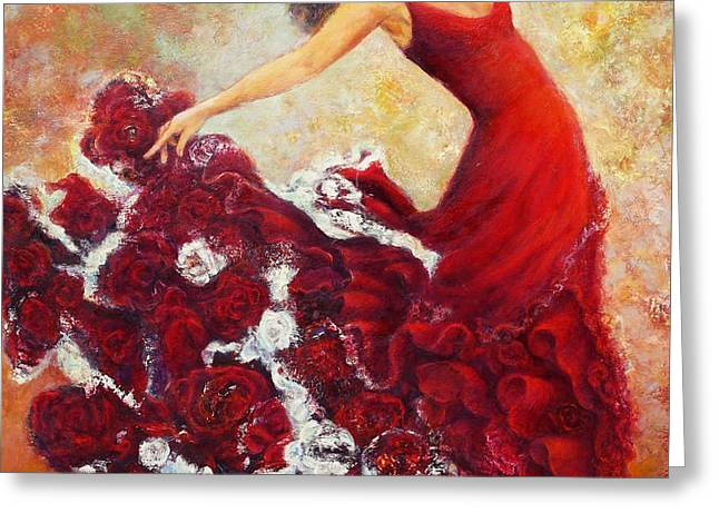 Flamenco 1 Greeting Card