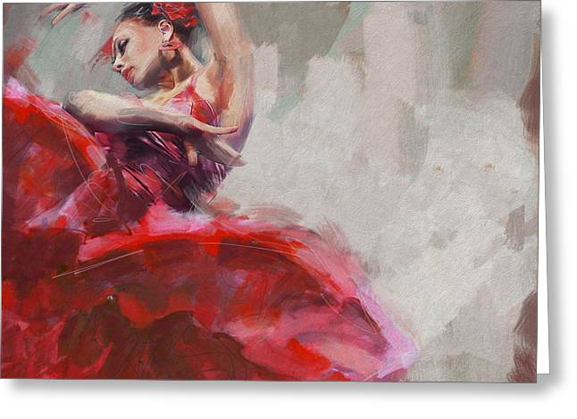 Flamenco 53 Greeting Card