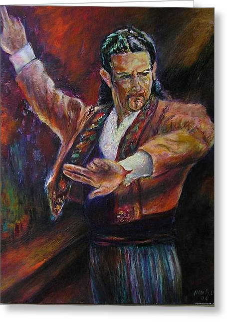 Flamenco Dancer Xx Greeting Card