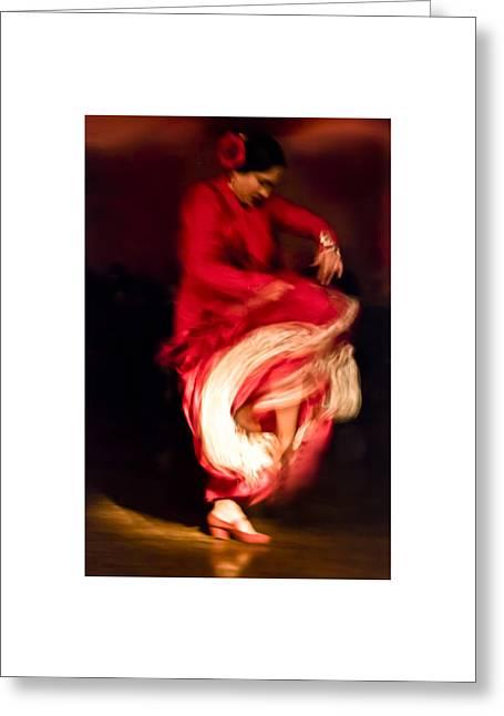 Flamenco Series 1 Greeting Card