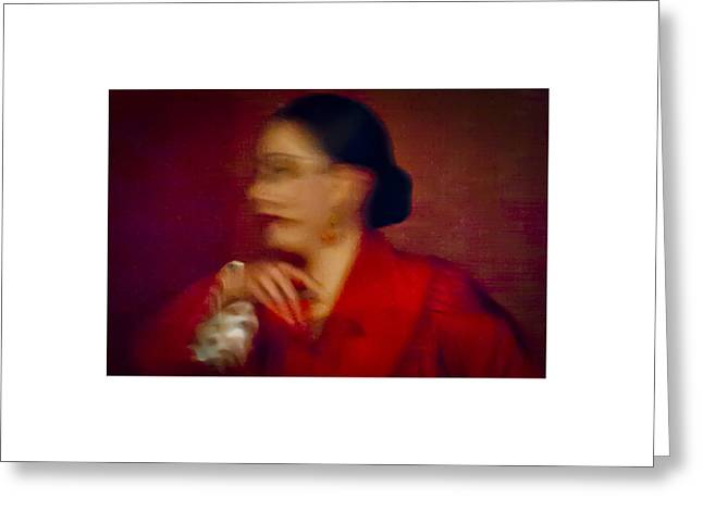 Greeting Card featuring the photograph Flamenco Series 4 by Catherine Sobredo