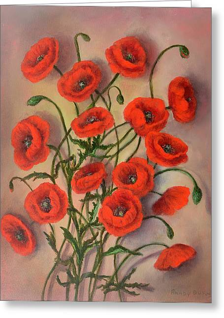 Flander's Poppies Greeting Card