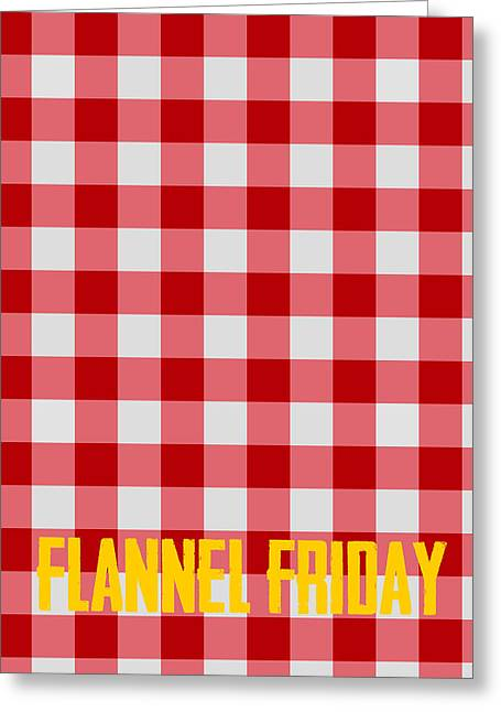 Flannel Friday Greeting Card