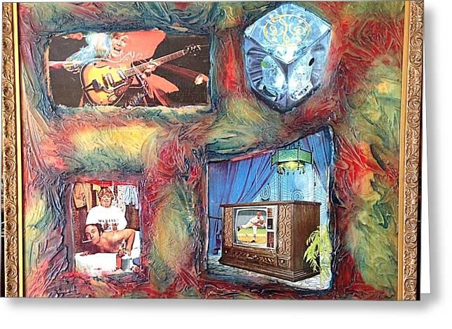 Flash Generation By Alfredo Garcia Greeting Card