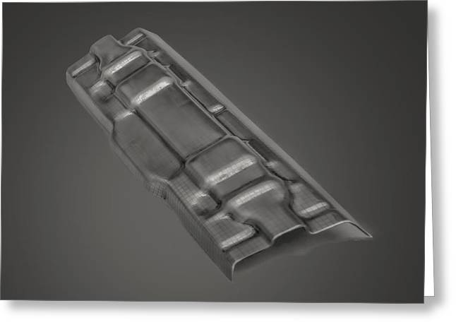 Flashbainite - Maximum Strength Steel - Seat Combo V6 Greeting Card by LeeAnn McLaneGoetz McLaneGoetzStudioLLCcom
