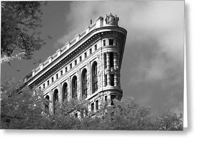 New York City - Flat Iron Prow Greeting Card