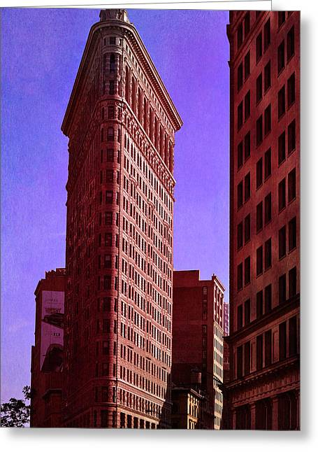 Flat Iron  Greeting Card by Laura Fasulo