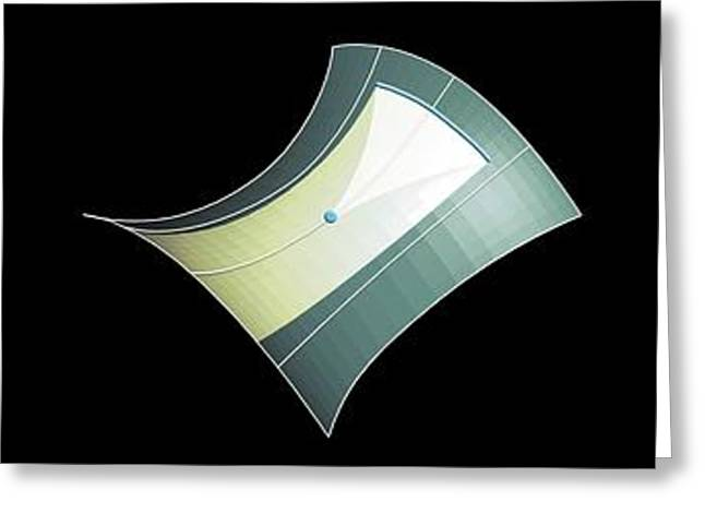 Flat Greeting Card by Mikkel Juul Jensen
