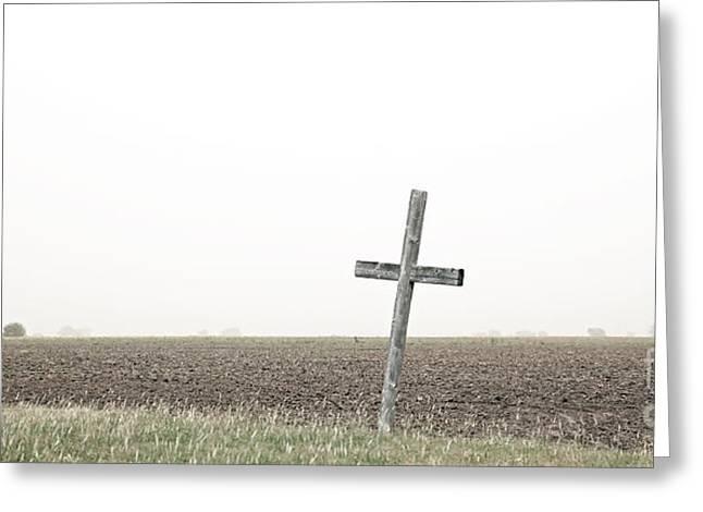 Flat-out Faith Greeting Card