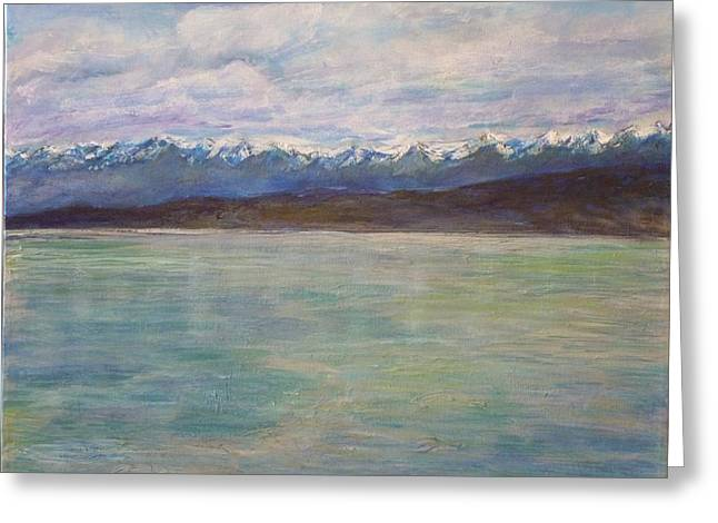 Flathead Lake Montana Greeting Card