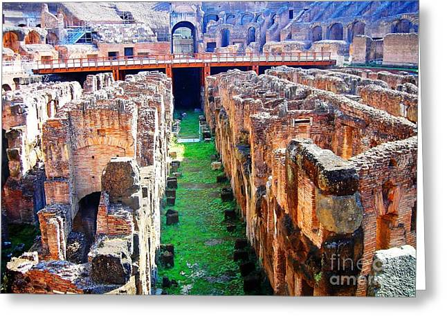 Flavian Amphitheatre Greeting Card
