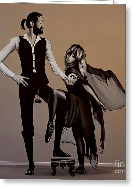 Fleetwood Mac Rumours Greeting Card by Paul Meijering