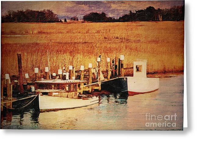 Flemings Landing Delaware Greeting Card