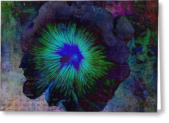 Fleur De Bleu De Cru Greeting Card