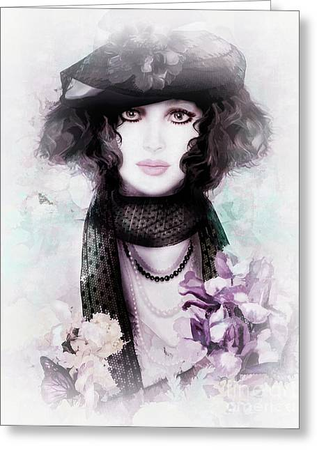 Fleuriste Greeting Card by Shanina Conway