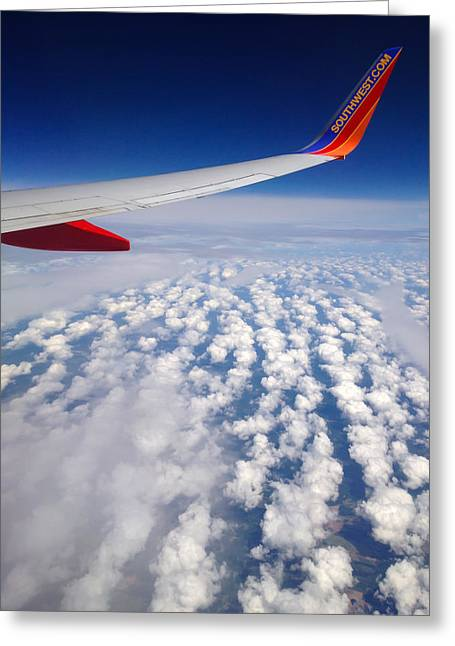 Flight Home Greeting Card