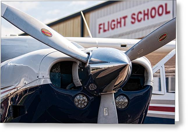 Flight School Greeting Card