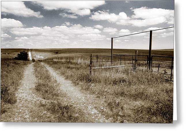 Flint Hills Country Greeting Card