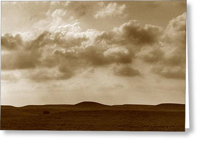 Flint Hills Panorama Greeting Card