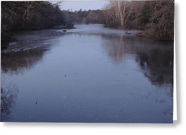 Greeting Card featuring the photograph Flint River 1 by Kim Pate
