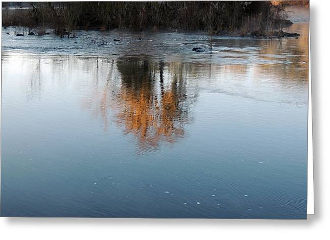 Greeting Card featuring the photograph Flint River 21 by Kim Pate