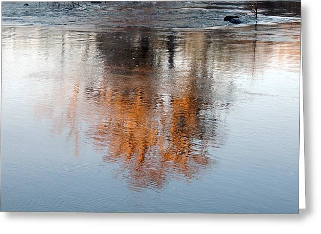 Greeting Card featuring the photograph Flint River 22 by Kim Pate