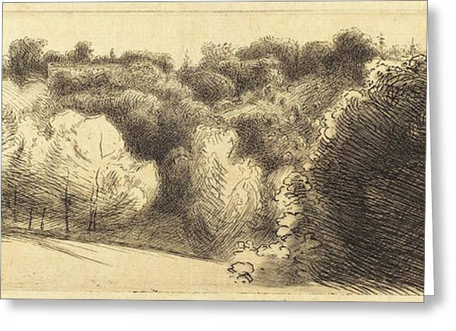 Félix Bracquemond French, 1833 - 1914 Greeting Card by Quint Lox