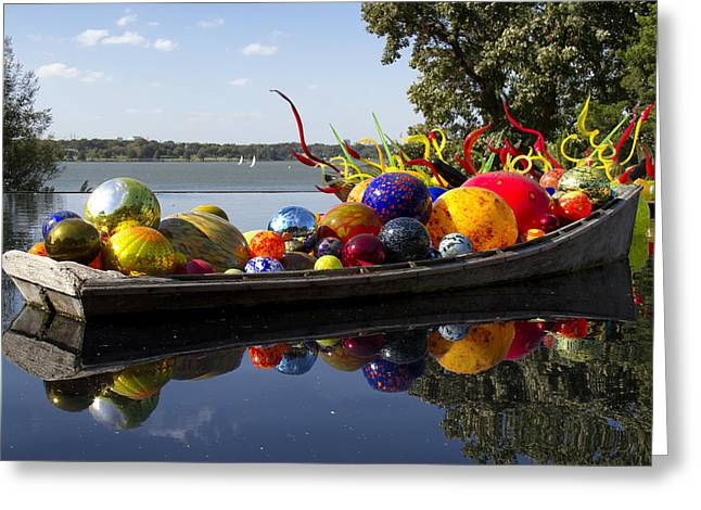 Float Boat Greeting Card