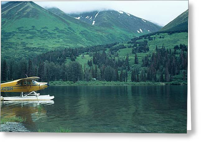 Float Plane Kenai Peninsula Alaska Usa Greeting Card by Panoramic Images