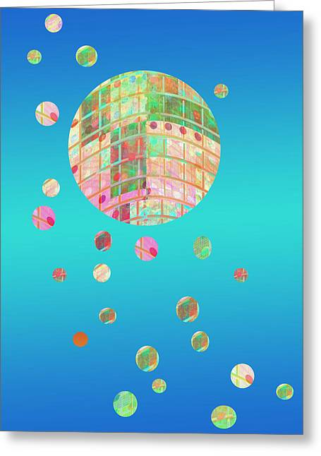 Floating  Greeting Card by Ann Powell