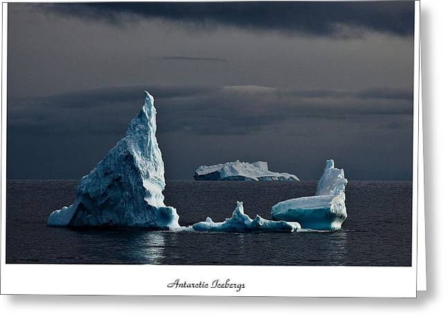 Floating Giants Greeting Card by David Barringhaus