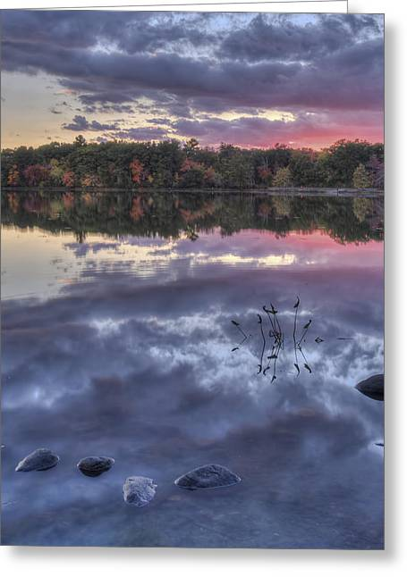 Floating Rocks Greeting Card by Jean-Pierre Ducondi