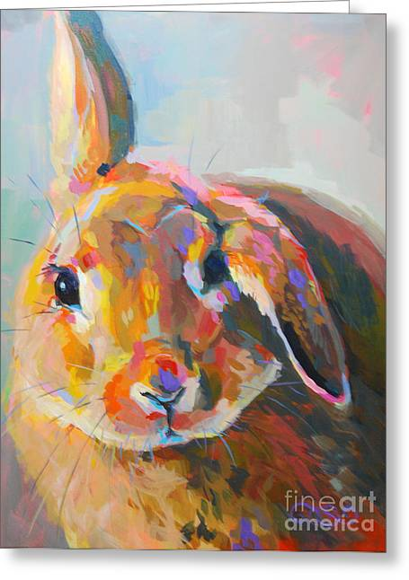 Flopsy Greeting Card by Kimberly Santini