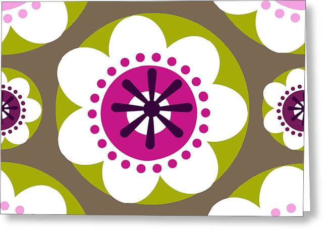Floral 1  Greeting Card