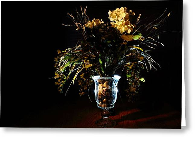 Greeting Card featuring the photograph Floral Arrangement by David Andersen