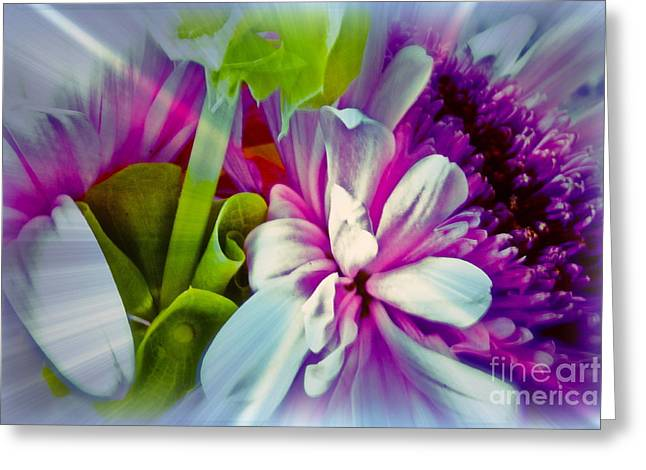 Floral Array Greeting Card