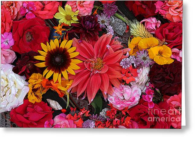 Floral Bounty 2 Greeting Card